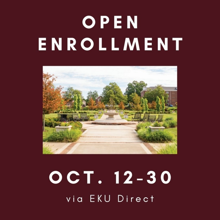 Open Enrollment Oct. 12-30